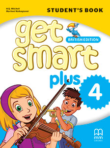 Get Smart Plus 4 - A1.2 Bookcover